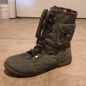 Roxy brand size 8 women's combat boots